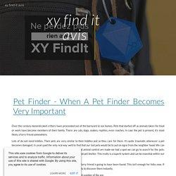xy find it avis