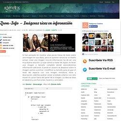 Zoom-Info – Imágenes ricas en información