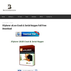 XYplorer 18.00 Crack & Serial Keygen Full Free Download