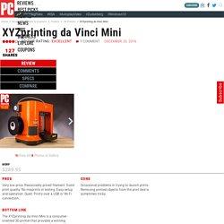 XYZprinting da Vinci Mini Review