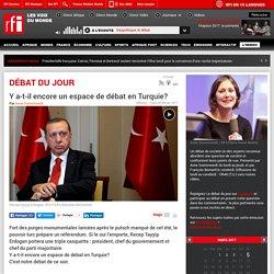 Y a-t-il encore un espace de débat en Turquie?