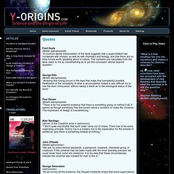 Y-Origins.com - Science and the Origin of Life