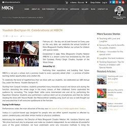 Yaadein Bachpan Ki: Celebrations at MBCN -