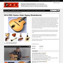 2014 ERG Yaakov Hoter Gypsy (Kookaburra) - DjangoBooks.com