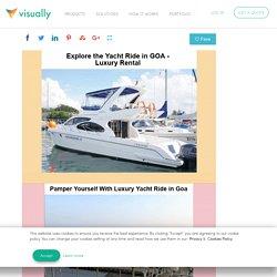 Yacht In Goa