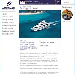 Yachting professionnel
