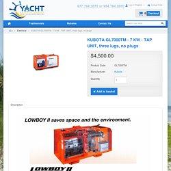 Kubota Lo Boy GL 7000 TM - YachtSupplyDepot - Discount Yacht Supplies, Vetus Nautical Accessories, Scandvik Parts, Garmin Marine Electronics