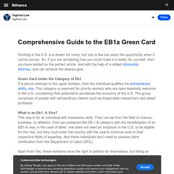 Comprehensive Guide to the EB1a Green Card