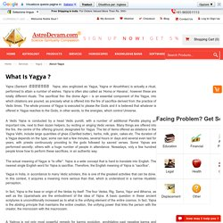What is Yagya?, About Yagya, Online Yagya