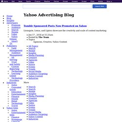 TV Commercial Time = Mobile Primetime | Yahoo! Advertising Blog
