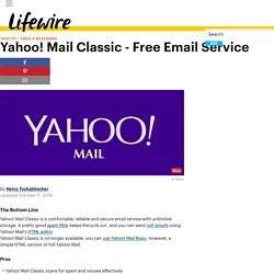 Yahoo! Mail Classic - Email Service Review