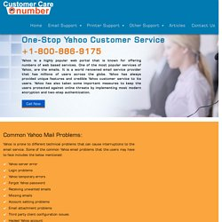 Yahoo Customer Care Support Phone Number (1-800-886-9175)