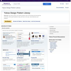 User Interface elements Library