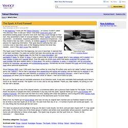 Directory Yahoo RSS Feeds
