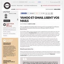 Yahoo et Gmail lisent vos mails