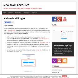 yahoo com mail