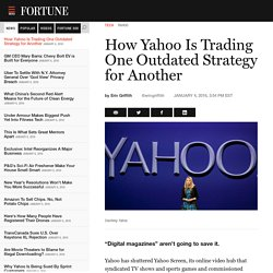 Yahoo shuts down Yahoo Screen
