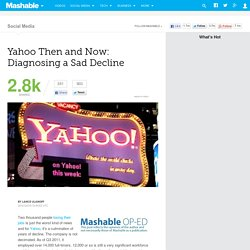Yahoo Then and Now: Diagnosing a Sad Decline