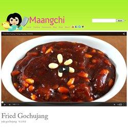 Yak-gochujang (Fried gochujang) recipe