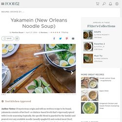 Yakamein (New Orleans Noodle Soup) Recipe on Food52