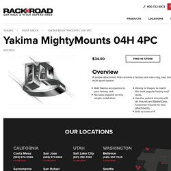 Yakima MightyMounts 04H 4PC - Easy to Install