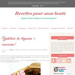 Yakitori de légumes