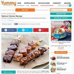 Yakitori Sticks Recipe