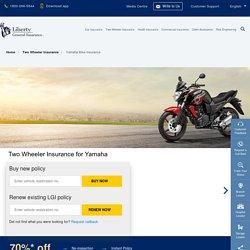 Yamaha Insurance: Buy/Renew Two Wheeler Insurance for Yamaha Bikes