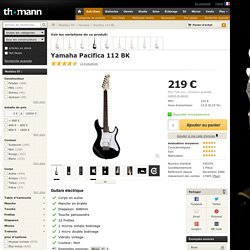 Yamaha Pacifica 112 BL