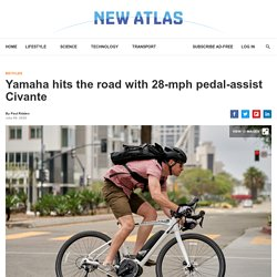 Yamaha hits the road with 28-mph pedal-assist Civante