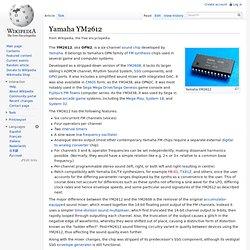 Yamaha YM2612
