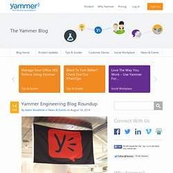 Blog | The Yammer Blog