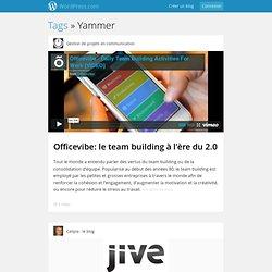 retours d'expérience Yammer (Wordpress)