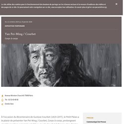 Yan Pei-Ming / Courbet jusqu'au 19 janvier 2020