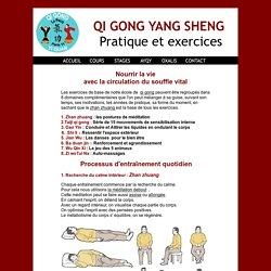 Qi Gong yang sheng pratique et exercices