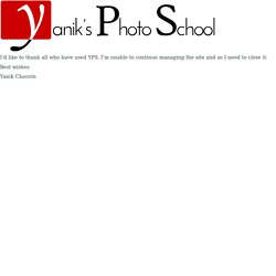 Yanik's Photo School