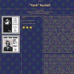 """Yank"" Rachell"