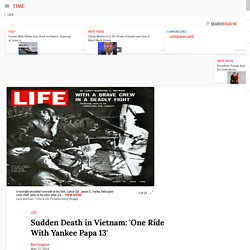 'One Ride With Yankee Papa 13': A Classic Photo Essay From Vietnam