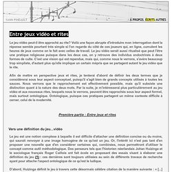 Yann Pineault - Jeux vidéo et rites