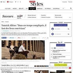 """Yannick Alléno: """"Dans ces temps compliqués, il faut des lieux conviviaux"""""""