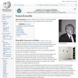 Yannis Kounellis