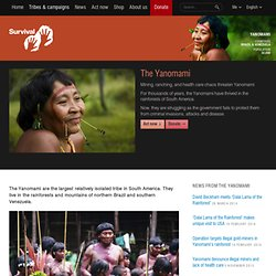 Yanomami: Way of life