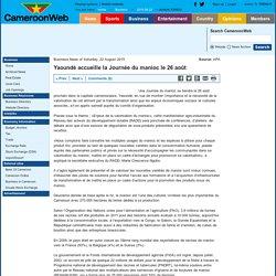 Yaoundé accueille la Journée du manioc le 26 août