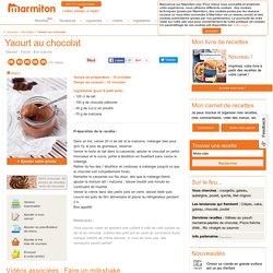 Yaourt au chocolat : Recette d'Yaourt au chocolat