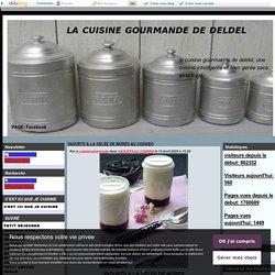 YAOURTS A LA GELÉE DE MÛRES AU COOKEO - la cuisine gourmande de deldel