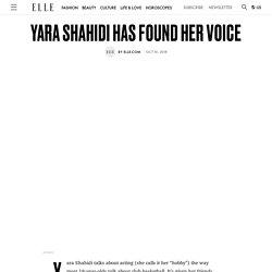 Yara Shahidi Has Found Her Voice