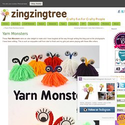Yarn Monsters