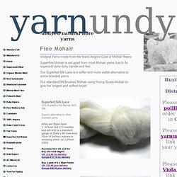 Mohair Yarns
