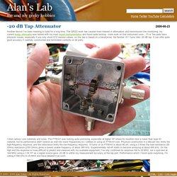 Alan Yates' Laboratory - -20 dB Tap Attenuator
