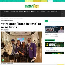 """Yatra goes """"back in time"""" to raise funds"""